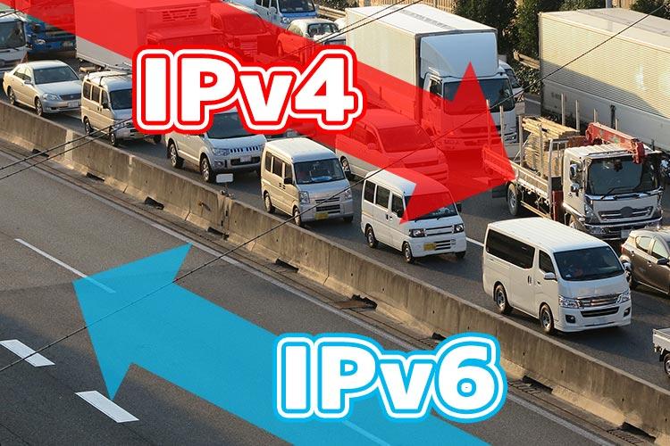 IPv6 IpoE+IPv4