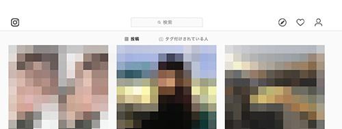 プロフィール画面の画像