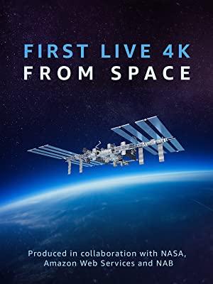 宇宙から初めての4Kライブストリーミング