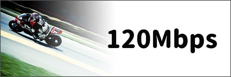 120Mbps