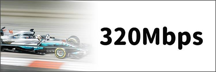 320Mbps