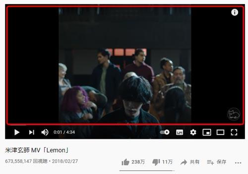 リピート再生したい動画の画面上でマウスを右クリック